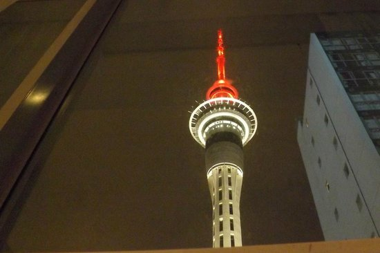 Rydges Auckland:                                     View from rm 823