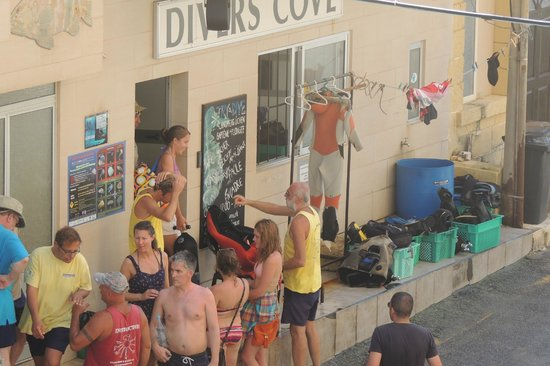 St. Andrew's Divers Cove:                                     The dive school 3