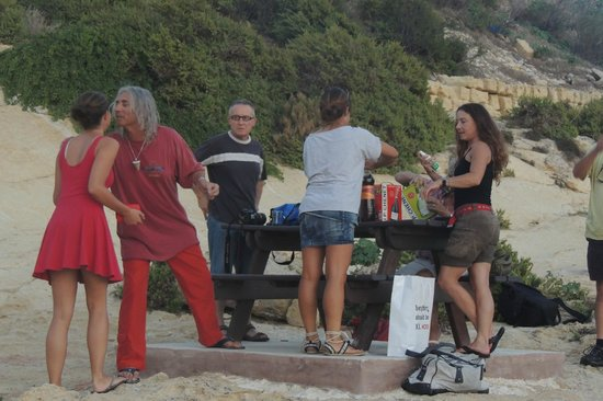 St. Andrew's Divers Cove:                                     Beach party