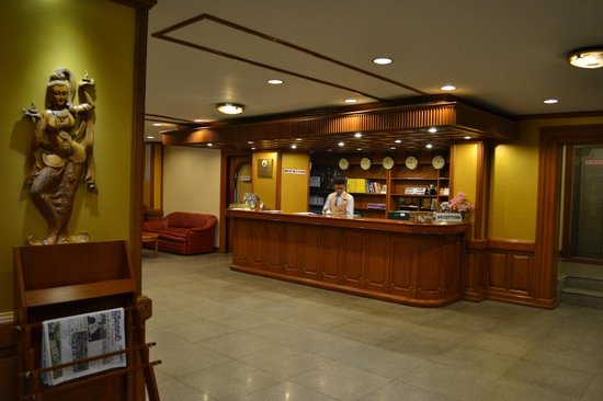 Myanmar Panda Hotel :                   reception