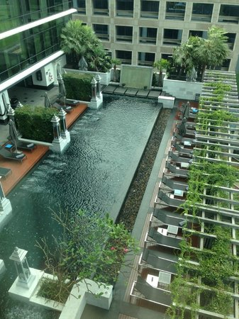 The St. Regis Bangkok:                   This is my room view!
