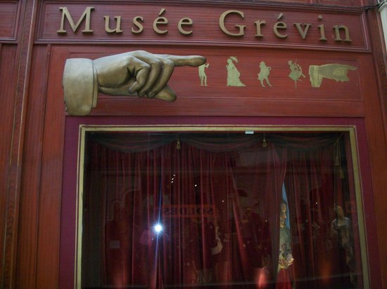 Musée Grévin :                   Exit door from the Museum