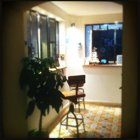 Hotel Le Val Duchesse :                   reception
