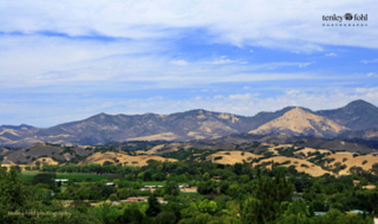 Santa Ynez Valley, CA:                   Santa Ynez Mountains