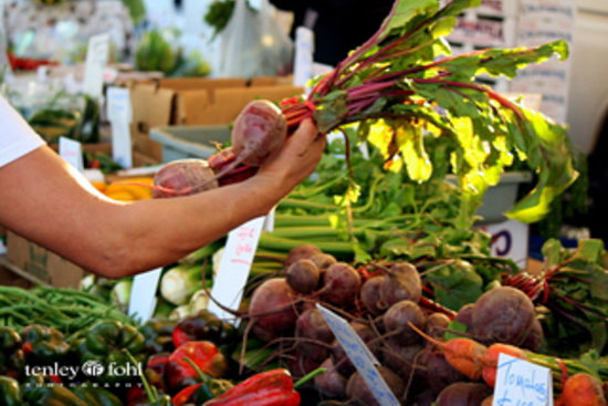 Santa Ynez Valley, CA:                   Solvang Farmer's Market (every Wednesday afternoon!)