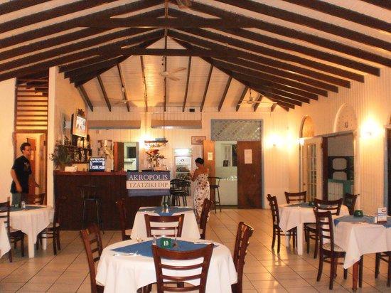 Akropolis Greek Taverna :                   L'intérieur du restaurant