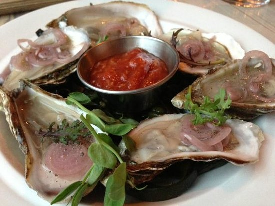 PEI oysters - Picture of The Wine Kitchen on the Creek, Frederick ...