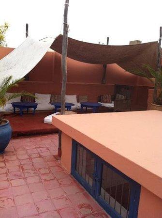 Riad El Az:                   sun terrace