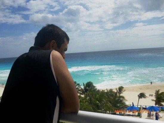 Occidental Tucancun:                   vista desde el balcon