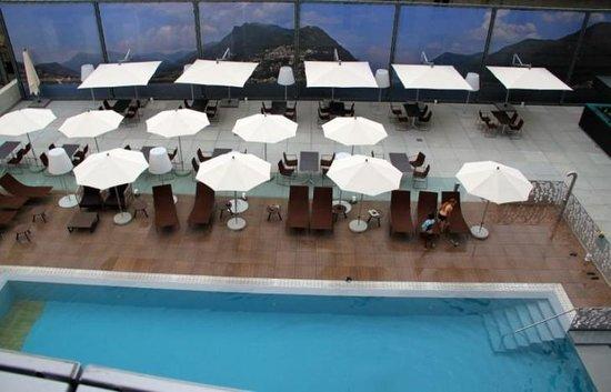 Novotel Lugano Paradiso:                   pool