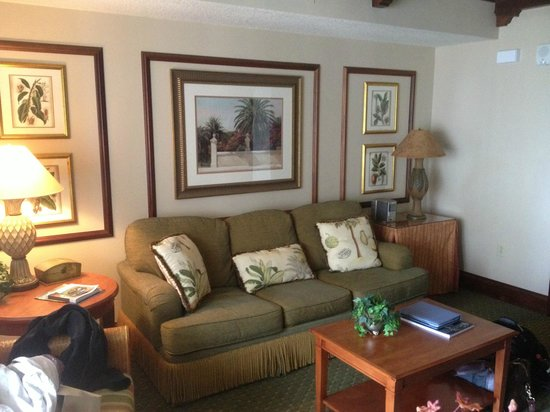 Hammock Beach Resort:                   The room