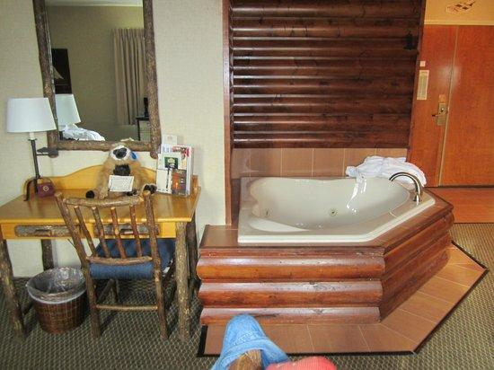 جالينا ستوني كريك:                   Hot tub in room                 