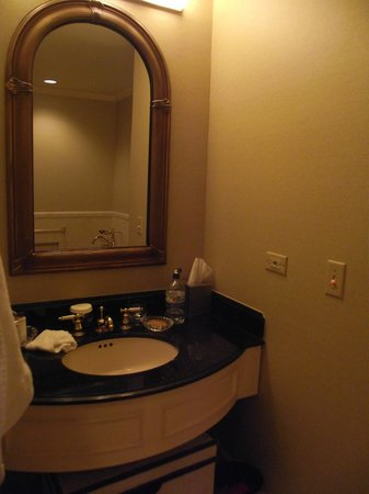 The Towers of the Waldorf Astoria:                   Bathroom