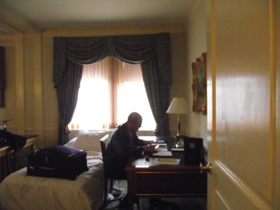 The Towers of the Waldorf Astoria:                   Writing desk, extra bed for daughter