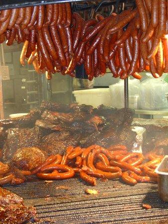 Salt Lick BBQ:                   Open pit at its best!!