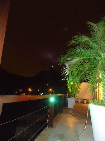 The Villa:                   Vista desde el Hotel