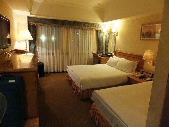 Cosmos Hotel Taipei:                   広さもそこそこありゆったり過ごせました。