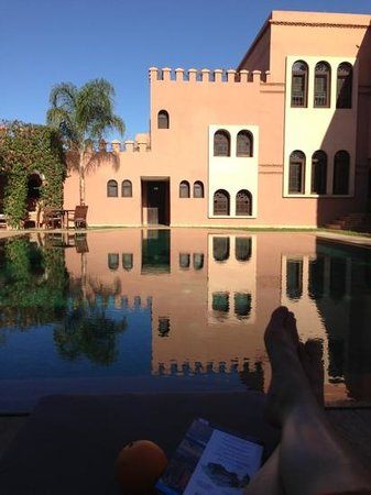 Al Fassia Aguedal:                                     so nice to escape here after touring all day!