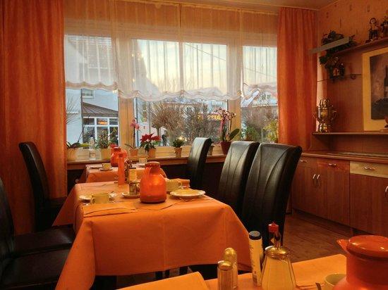 Haus Margareta:                   pleasant dining room