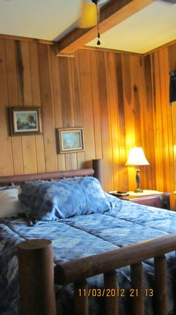 Tuckasiegee River Mountain Lodge:                                     awesome room