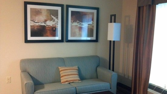 Homewood Suites by Hilton Cedar Rapids North:                   Living Room