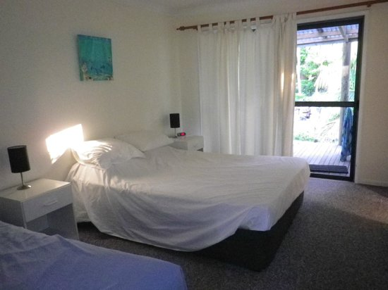 Hideaway:                   no fan or aircon. - bedroom was hot if no breeze