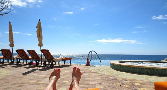 Grand Solmar Land's End Resort & Spa:                   beach chair view