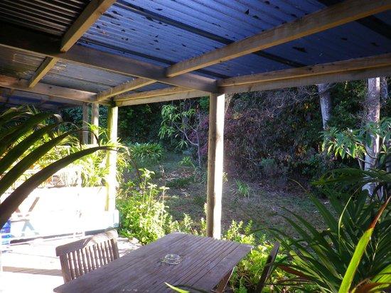 Hideaway:                   back verandah