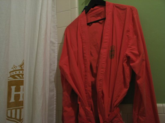 Hotel Havana:                                     I love a robe!