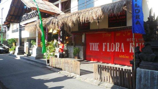 Hotel The Flora Kuta Bali:                   infront of hotel