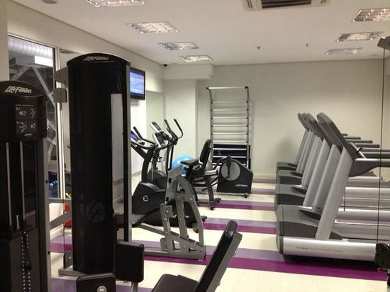 Four Points by Sheraton Curitiba :                                     Small but well equipped gym
