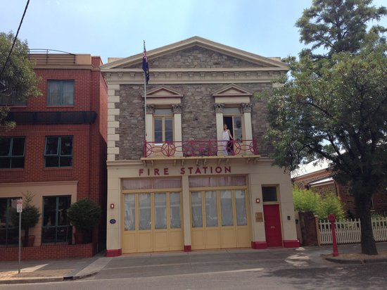 Fire Station Inn:                                     The front