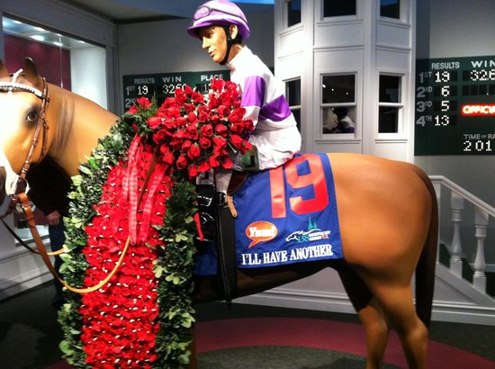 Kentucky Derby Museum:                                     Astrides