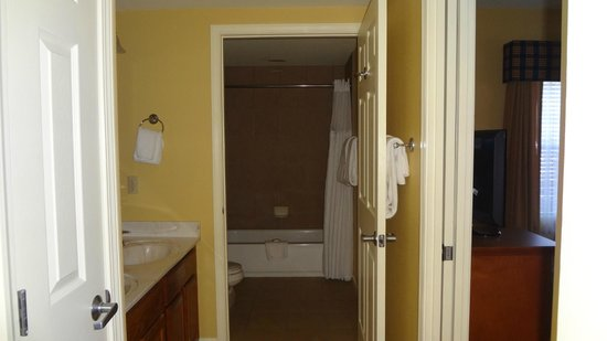 Wyndham Pagosa:                   2nd bathroom