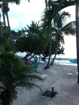 Secret Harbour Beach Resort :                   view from our room-building two