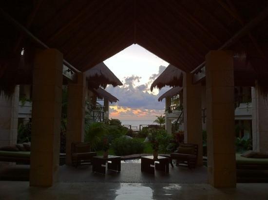 Azul Beach Resort Riviera Maya:                   a view from the lobby