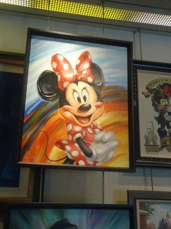 Orlando, FL:                   Art en disney