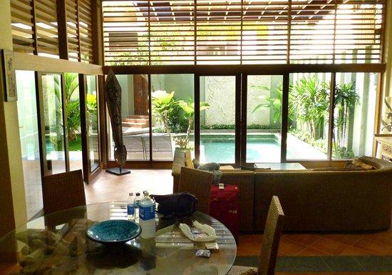 Villa Jeruk:                   Very Comfy Living room