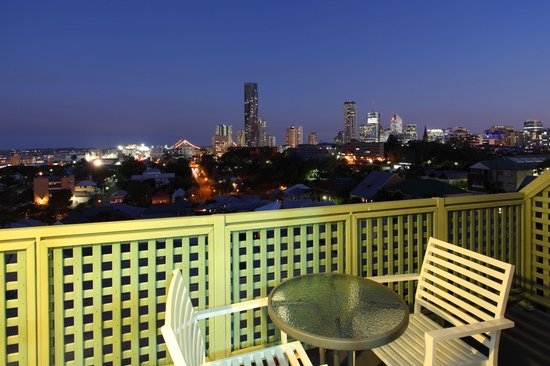 Best Western Gregory Terrace Brisbane: city views