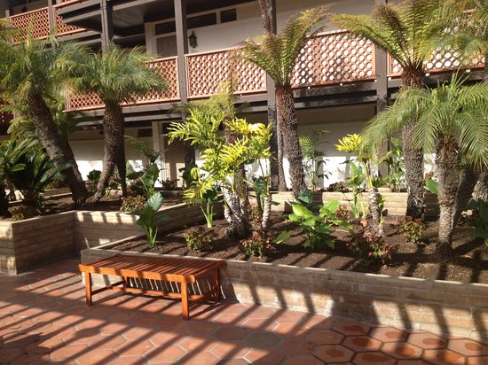 La Jolla Shores Hotel:                   Courtyard