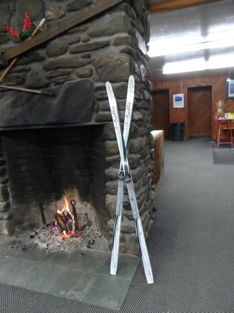Trapp Family Lodge Outdoor Center :                   The Outdoor Center equipment rental area