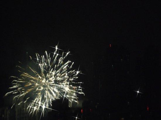 Sheraton Shanghai Hongkou Hotel:                   CNY fireworks