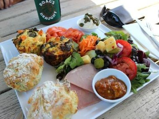 Hothouse Cafe:                   platter for two