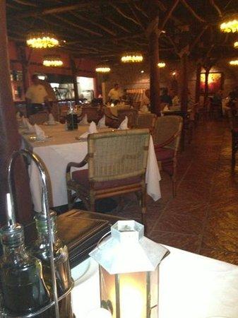 Frascati:                   el comedor