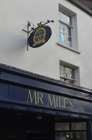 Mr. Miles Tea & Coffee:                   Mr Miles is long gone but he did a good job