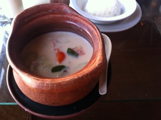 Milky Bay Restaurant:                   Tom Kha Chicken