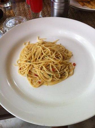 Milky Bay Restaurant:                   Pasta Dish
