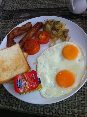 Milky Bay Resort Restaurant:                   Milky Bay Breakfast