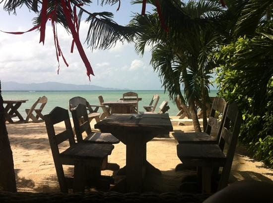 Milky Bay Resort Restaurant:                   Outdoor seating