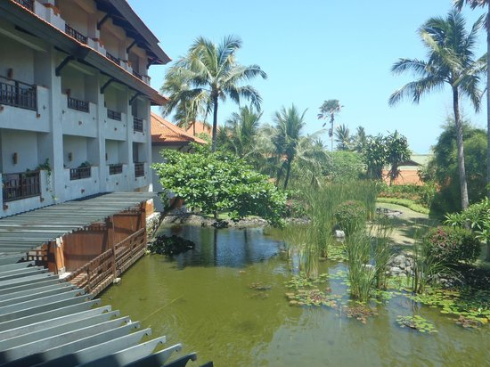 Grand Hyatt Bali:                   View from our Garden Room